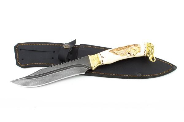 Купить подарочный нож Окунь 2 из стали ХВ5