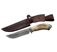 Нож Носорог Мозаичный Дамаск
