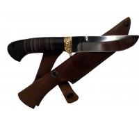 Нож Носорог D2 Кожа