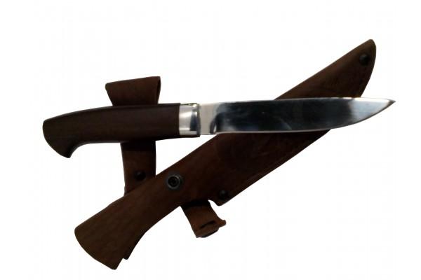 Купить нож Разведчик из кованой стали 95х18 Венге