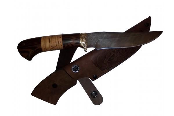 Нож Барс из Дамаска