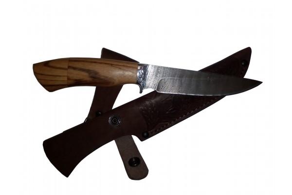 Купить нож Скинер из дамасской стали