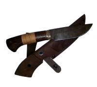 Нож Морж из Дамаска