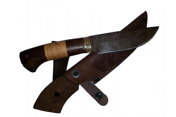 Купить нож Морж из дамасской стали