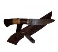 Нож Скинер из Дамаска