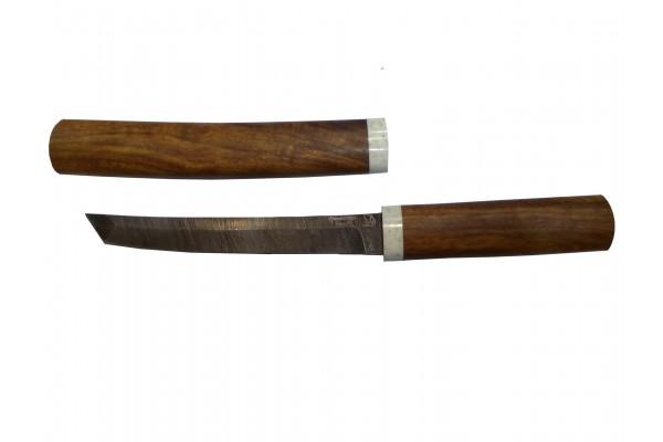 Купить нож танто  из Дамасская сталь